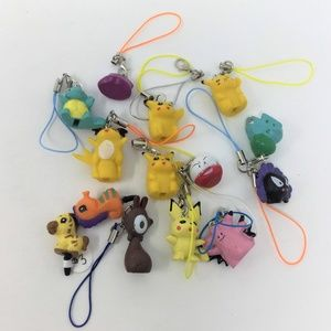 Pokemon Phone Charms Lot NWT